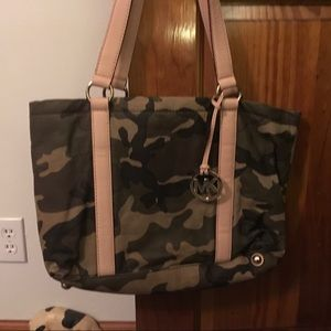 Michael Kors Camouflage Tote